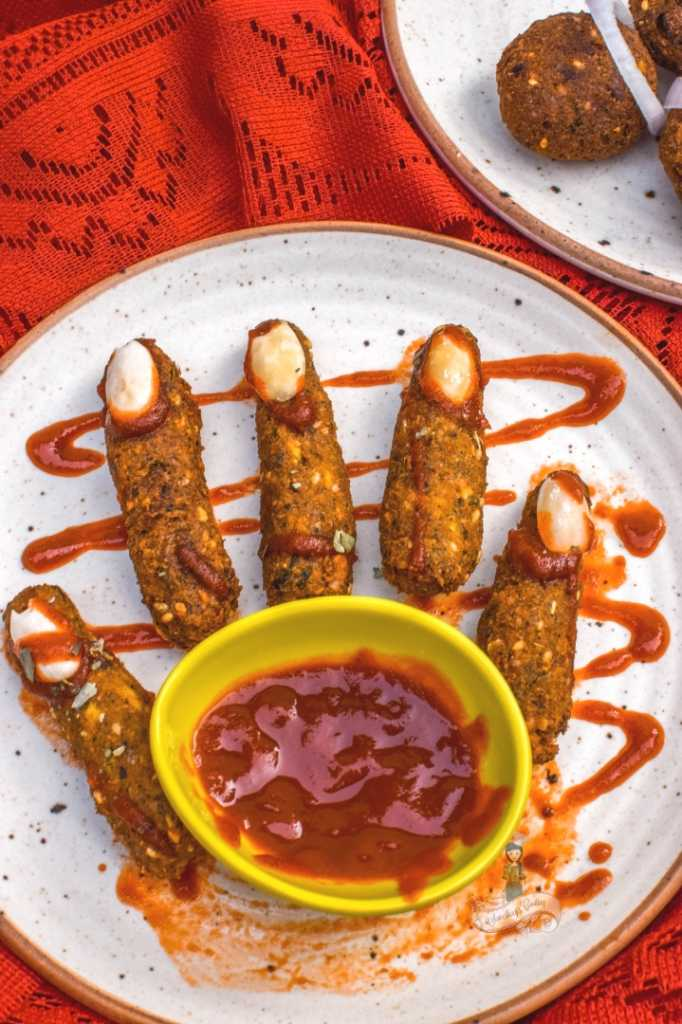 Falafel Witch Fingers Recipe Halloween India