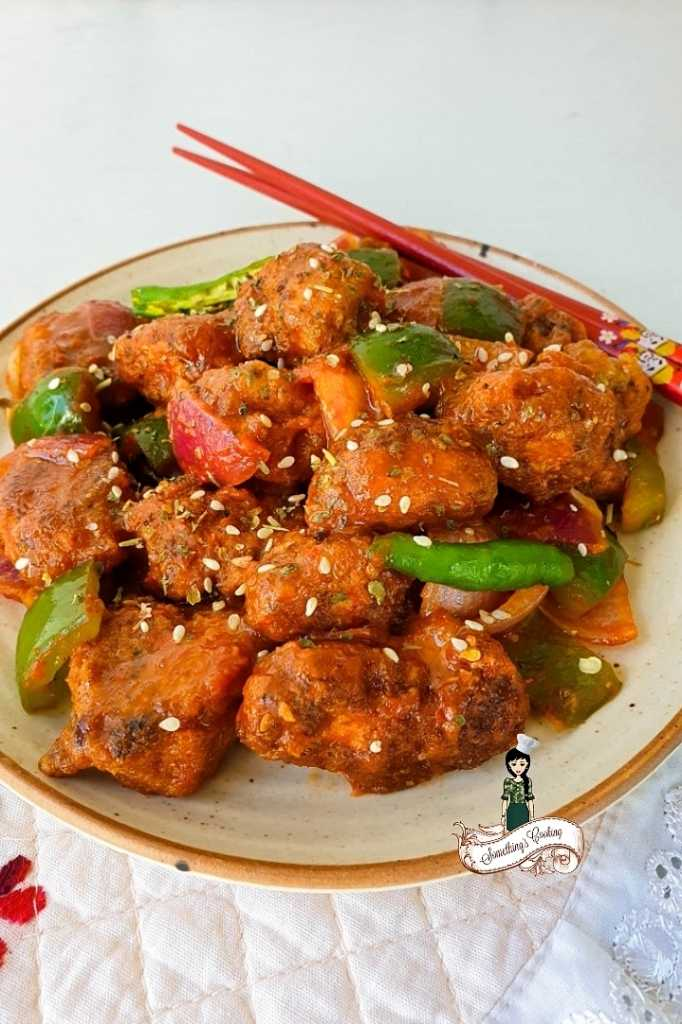 Keto Sweet and Sour Chicken- Ketogenic Diet- step by step instructions