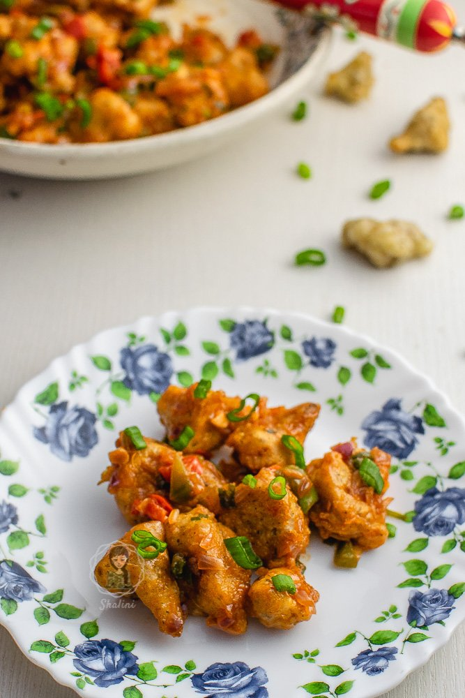 Here are the tips to make a crispy Restaurant Style Gobi Manchurian dry