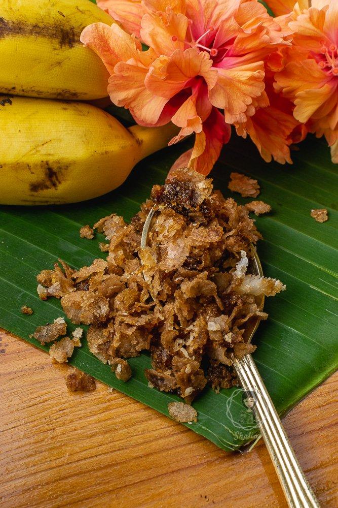 Aval Nanchathu or Sweet Poha