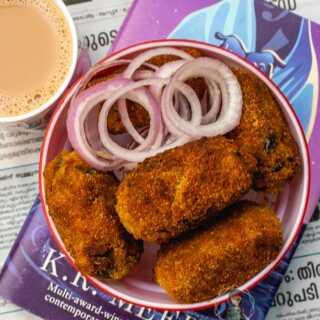 Kerala style fish cutlet