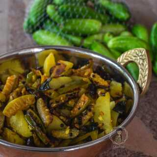 How to prepare Kovakka Mezhukkupuratti