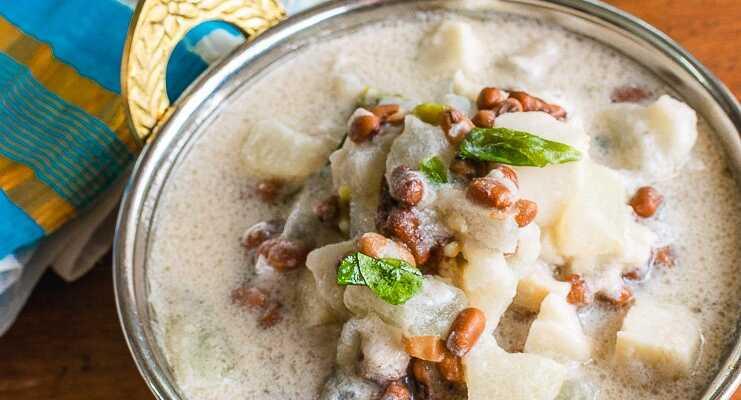 Olan | Ash Gourd in Coconut Milk