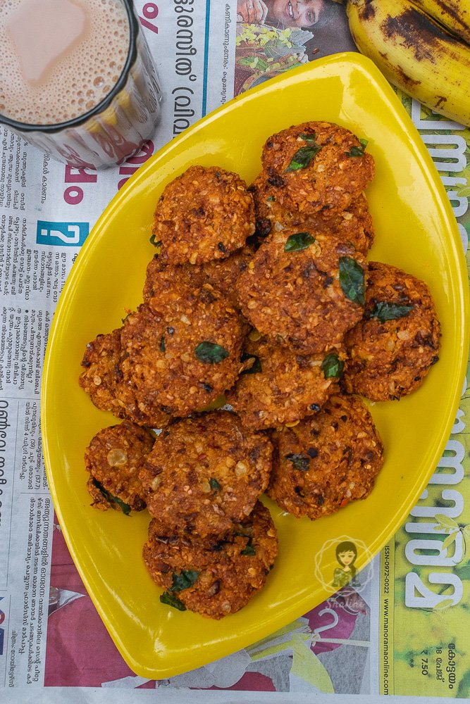 How to make kerala parippu vada