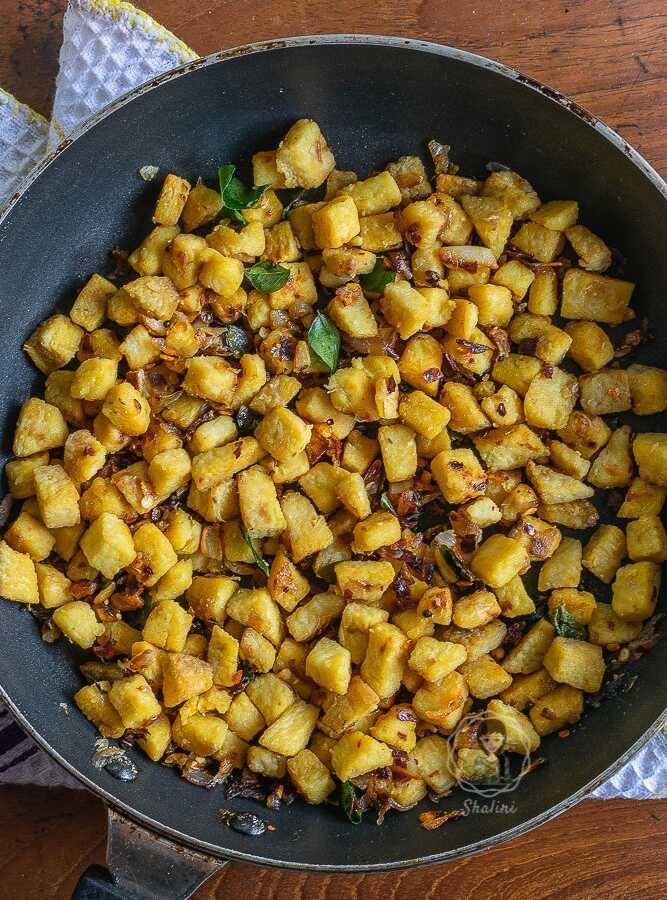 kerala chena fry recipe