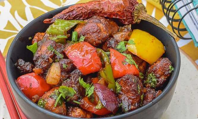 Keto Chilli Chicken