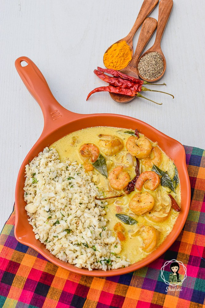 South Indian Keto Prawns Curry