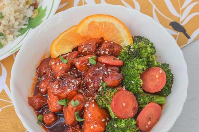Orange Chicken Recipe