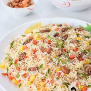 Vegetable Pulao veg pulav recipe
