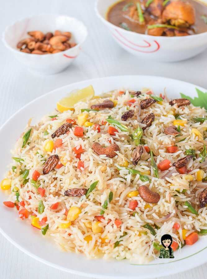 Vegetable Pulao veg pulav recipe