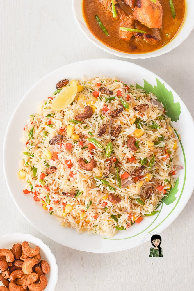 Indian Vegetable Pulao Recipe