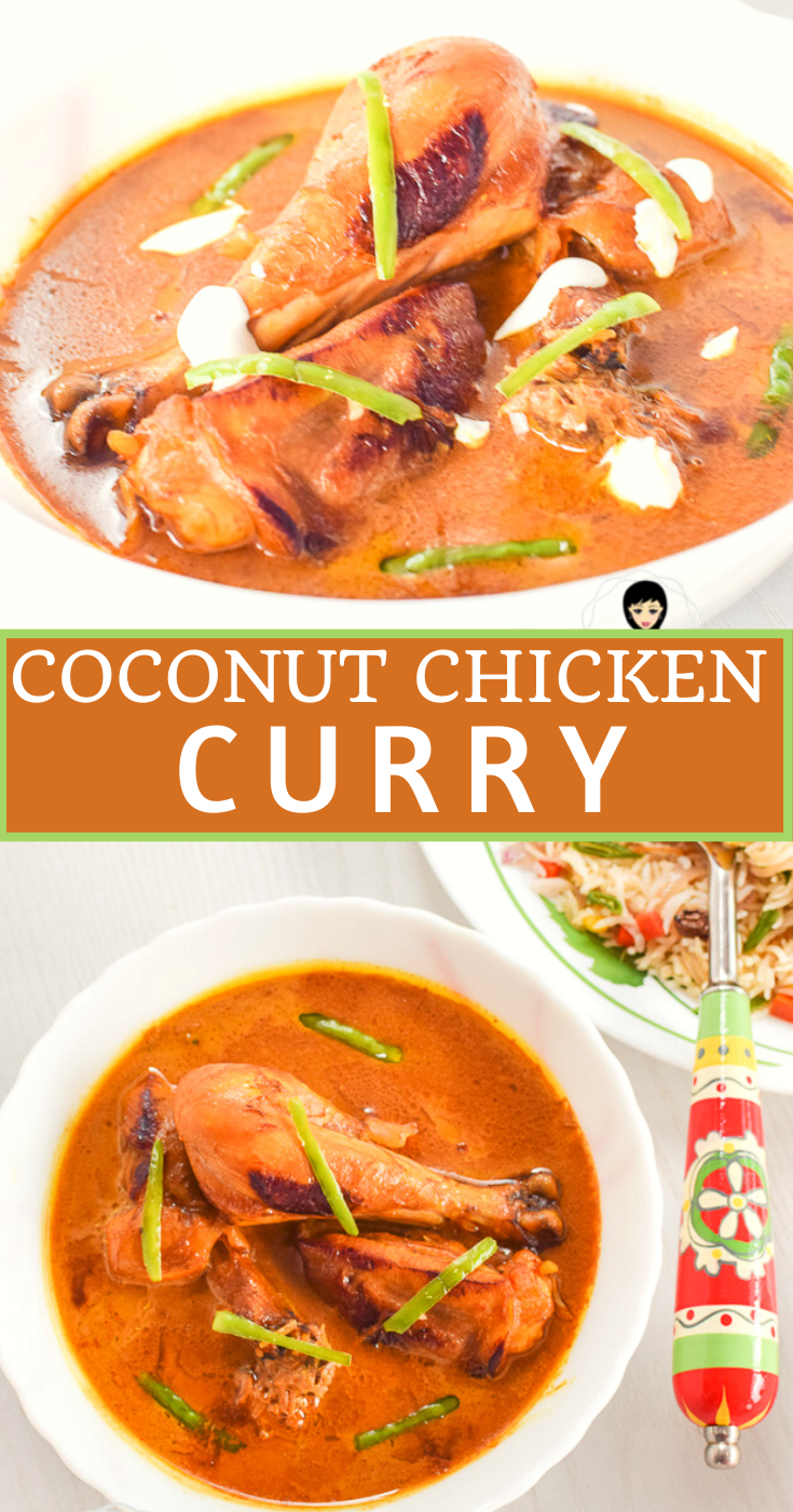 How to make Coconut Curry Chicken