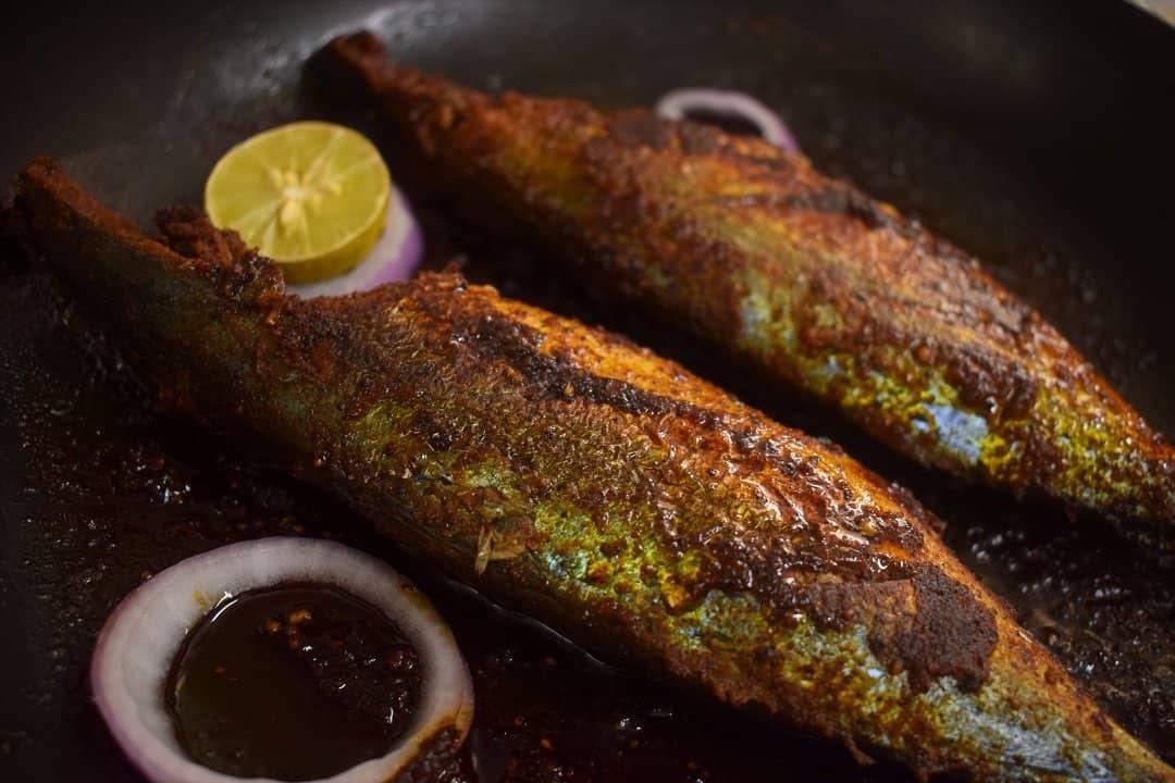 How to fry fish - Mackerel Fish Fry Recipe