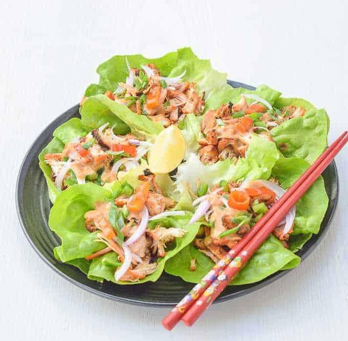 Easy salad - Asian Lettuce Wraps