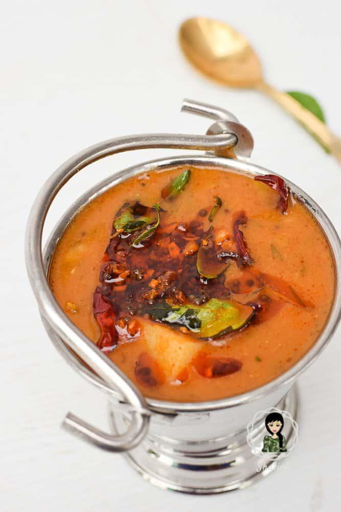 Kerala Sambar Onam Sadya Recipe