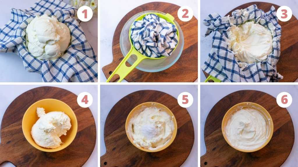 how to make shrikhand step by step pictures with video