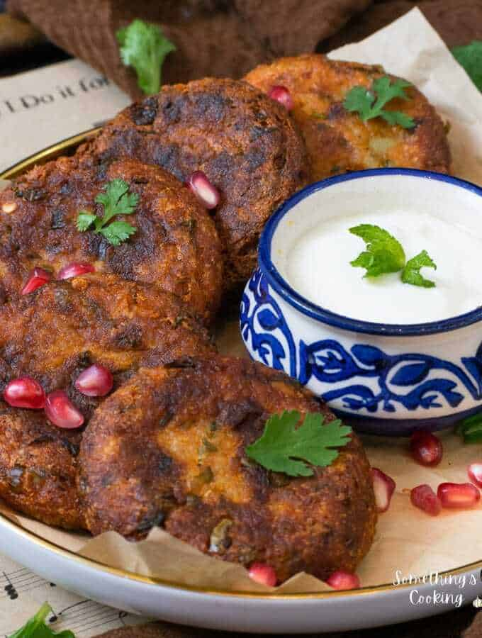 aloo tikki in air fryer and stovetop recipe