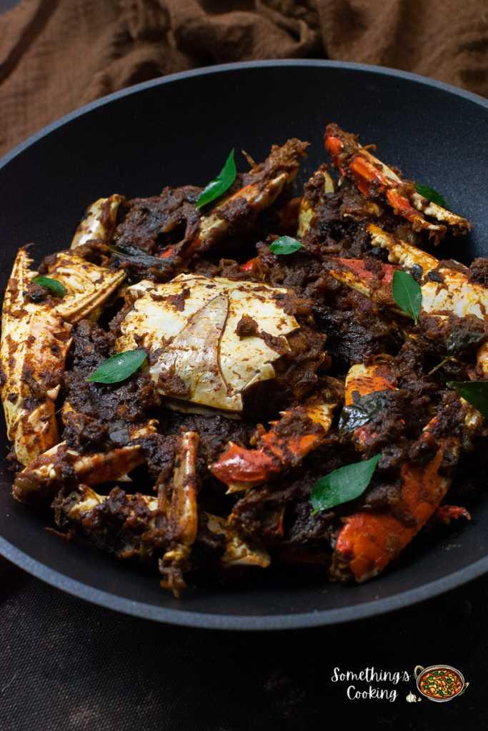 Kerala Style Crab Roast Recipe