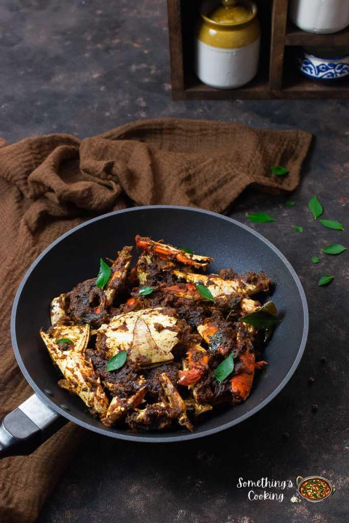 How to make Kerala Crab Roast