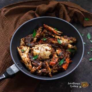 Kerala Crab Roast Recipe