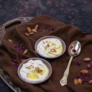 Shrikhand Recipe Saffron Cardamom Dessert images