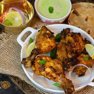 Chicken Tangdi Kebab in Air Fryer