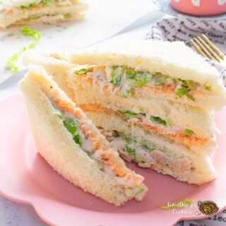 Mayo Chicken Sandwich Recipe with Video and step by step pictures