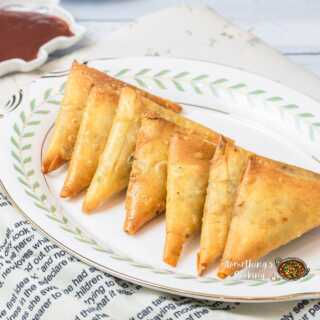 keema samosa recipe chicken filling