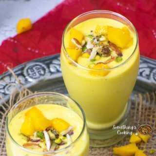 Indian Mango Lassi Recipe