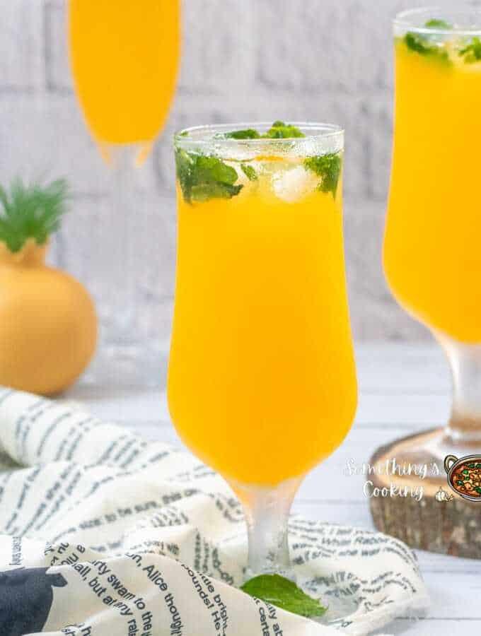 Mango Mojito Mocktail recipe
