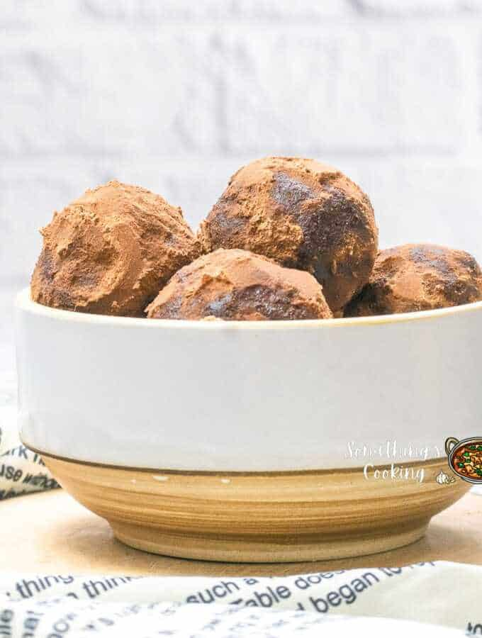 nutella truffles with 5 ingredients
