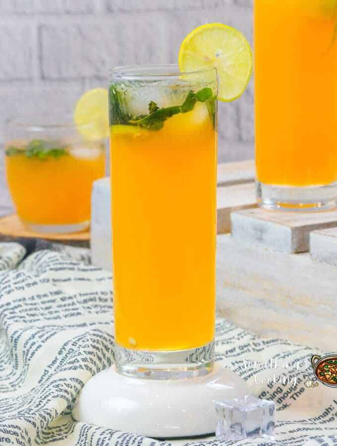 Orange Mojito Mocktail
